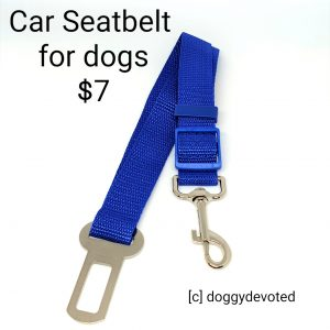 Adjustable Pet Safety Seatbelt