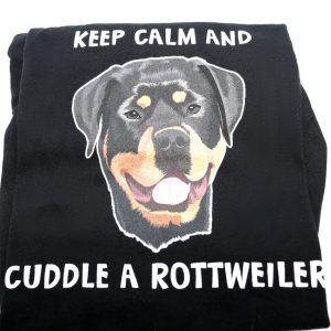 Cuddle a Rottweiler T-Shirt