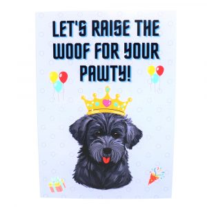 Schnoodle Greeting Cards