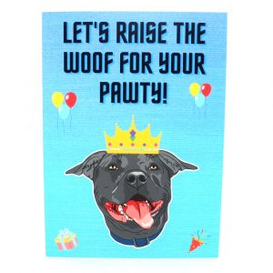 Staffy Greeting Cards