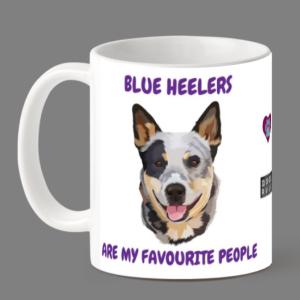 Blu heeler mug